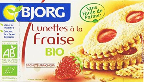 Bjorg Lunettes à La Fraise Bio 200 g