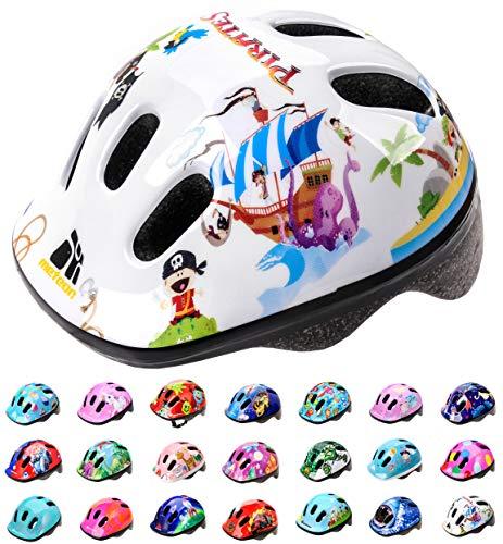 meteor® Kinderfahrradhelm Sicherer Fahrradhelm Kinder-Helm rollerhelm mädchen kinderfahrradhelm für Mountainbike Inliner skaterhelm BMX fahradhelm Scooter Jungen Bike Helmet