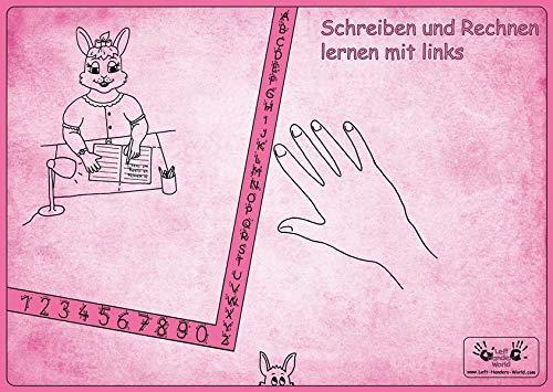 """Linkshänder Schreibunterlage """"Hasenmama"""": Linkshänder erlernen die gesunde Schreibhaltung"""