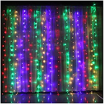 Valuetom Curtain Style LED String Lights for Christmas,New ...