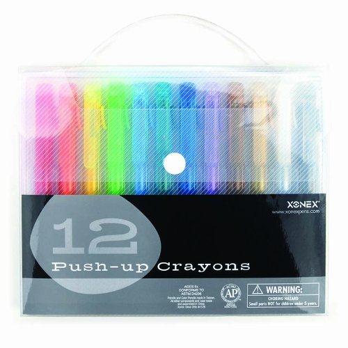 xonex-snap-case-art-supplies-push-up-crayons-12pc-1-count-30130-by-onex