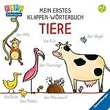 Mein erstes Klappen-Wörterbuch: Tiere