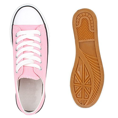 Stiefelparadies - Sneaker Donna Rosa (rosa)