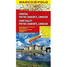Frankreich. 1:300000: MARCO POLO Karte Loiretal, Poitou-Charente, Limousin