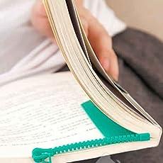 Iktu Novelty Zipper Bookmark Page Marker for Book (Assorted Colors) (2)