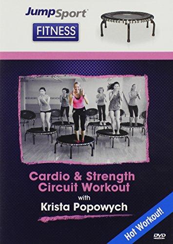 JumpSport Fitness Trampolin Cardio-Und Stärke Workout-DVD