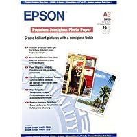 Epson Premium - Semi-gloss photo paper - A3 (297 x 420 mm) - 251 g/m2-20 sheet(s)