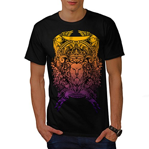 King Animal Lion Face Mad Men M T-shirt | Wellcoda (Mad Men-anzug)