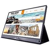 Asus 90LM0381-B01170 ZenScreen 39,62 cm (15,6 Zoll) Mobile-Monitor (Full HD, 1920 x 1080 Pixel, USB Typ-C, IPS) dunkel-grau