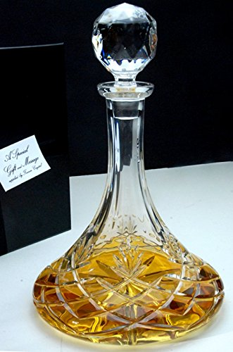 galleon-crystal-ships-decanter-new-for-christmas
