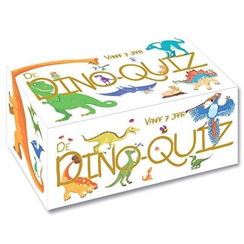 Dino-quiz: Doosje met boek en kaarten