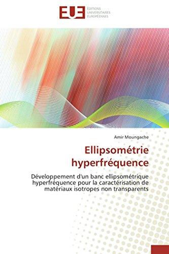 Ellipsométrie hyperfréquence