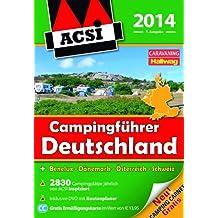 ACSI Campingführer Deutschland 2014: mit DVD
