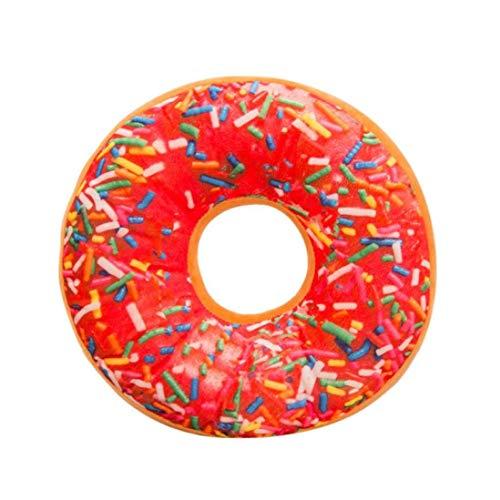 monrose Weichem Plüsch Kissen Gefüllte Sitzkissen Süße Donut -