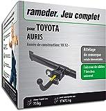 Rameder Attelage rotule démontable pour Toyota AURIS + Faisceau 7 Broches...