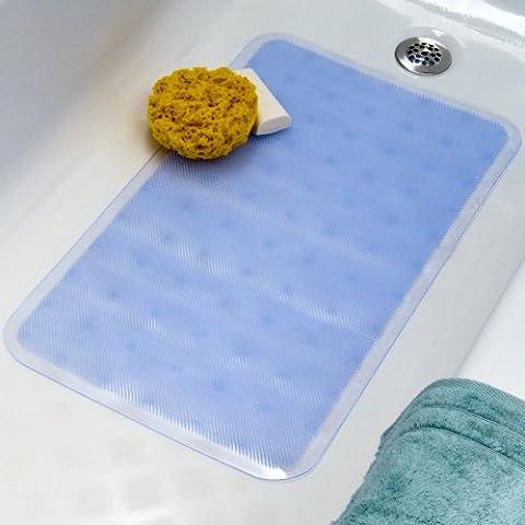 Slip-X Solutions morbida passo Tappetino da bagno trasparente