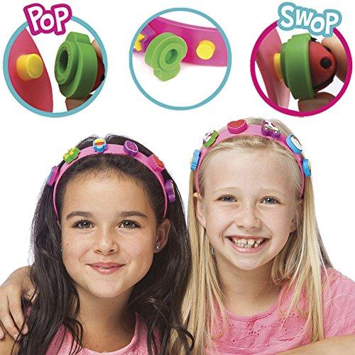 boppiband Pop & Swop - Diadema con 6 Adornos boppi Intercambiables Y...