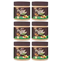 Natural Peanut Butter Crunch 1.5kg (Unsweetened) (250g Pack of 6)