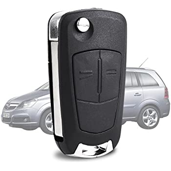 1 x key remote control car key fob battery opel vauxhall. Black Bedroom Furniture Sets. Home Design Ideas