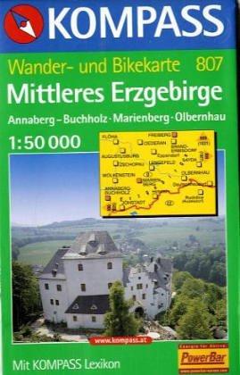 Mittleres Erzgebirge 1 : 50 000.