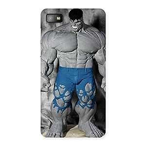 Blue Big Guy Back Case Cover for Blackberry Z10