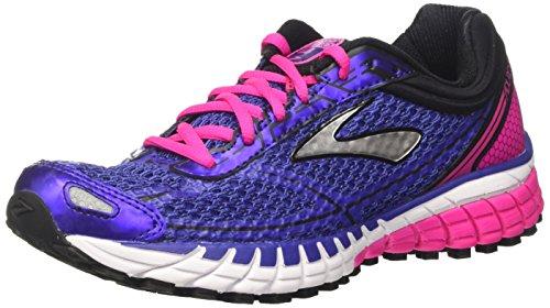Brooks Aduro 4, Zapatillas de Running, Mujer, Azul (Spectrumblue/PinkGlo/Black), 38.5 EU