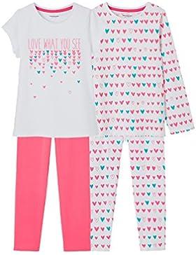 VERTBAUDET Lote de 2 pijamas combinables niña