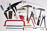Dachdecker-Werkzeuge-Satz 31-tlg Gesellen-Lehrlinge-Sortiment Werkzeug Dach Wand