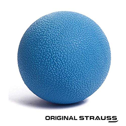 Strauss Yoga Massage Ball, (Blue)