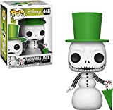 Pop! Disney The Nightmare Before Christmas - Figura de Vinilo Snowman Jack