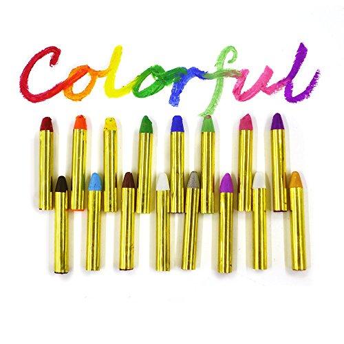 Pintura-facial-y-corporales-GiBot-16-Colores-Pintura-Corporal-y-Facial-Body-Paint-Maquillaje-Carnival-Set-para-nio-no-txico-easy-on-y-off