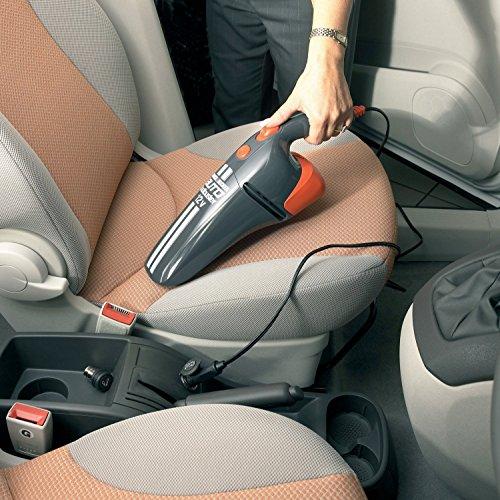 Black & Decker AV1205 Grey DC Car Vacuum Cleaner (12V)