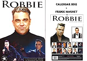 robbie williams kalender 2018 robbie williams. Black Bedroom Furniture Sets. Home Design Ideas