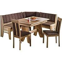 suchergebnis auf f r eckbankgruppe komplett mit tisch und 2 st hlen k che haushalt. Black Bedroom Furniture Sets. Home Design Ideas