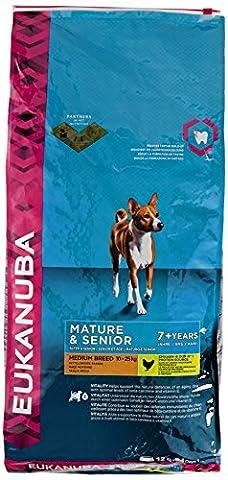 Eukanuba Mature and Senior Dry Dog Food for Medium Breed,