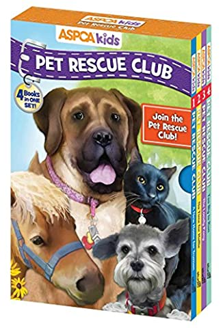 ASPCA Pet Rescue Club Set: Too Big to Run / the Lonely Pony / No Time for Hallie / a New Home for Truman
