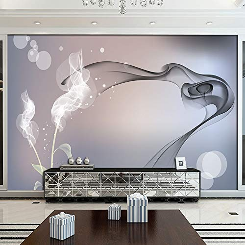 s neue rose 8d tv hintergrund wand zeichnung einfache moderne 3d dekoration 5d elegante wohnzimmer dekoration film und tv wandtuch <300 × 210cm> ()