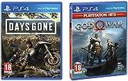 Days Gone - (PS4)&PS4 God of War (