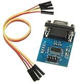 SODIAL(R) MAX3232 port serie RS232 Pour TTL Module Convertisseur connecteur DB9 W / 4 Cavalier