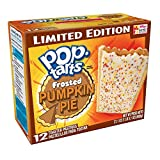 Kelloggs Pop Tarts Frosted Pumpkin Pie 12 Toaster Pastries 600g Box
