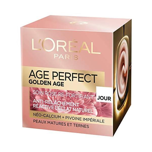 L'Oréal Paris – Golden Age Perfect – Cuidado Rose a fortificar – Día – 50 ml