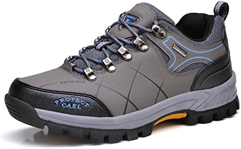 Hombre Senderismo Impermeables Aire Libre y Deportes Exterior Montaña ZapatosBotas de Senderismo  -