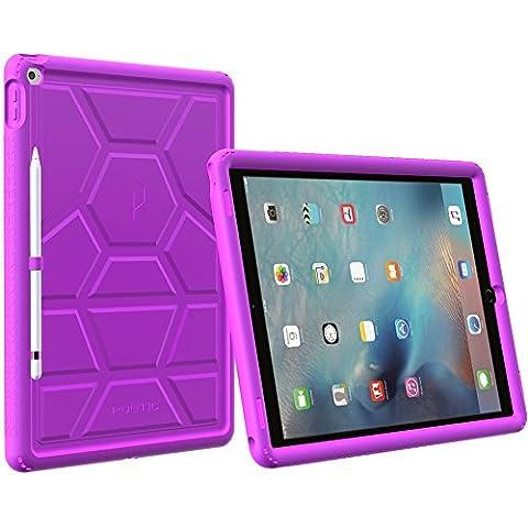 Funda iPad Pro 12,9 - Poetic [Serie Turtle Skin] Funda iPad Pro de 12,9