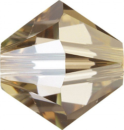 6�mm perline di cristallo Swarovski Crystal Crystal Golden Shadow Qty 50