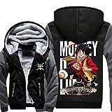 Anime Kapuzen Pullover Hoodie Cosplay Kostüm Plus dicke Jacke Sweatshirt Herren Top Mantel Warm halten Kleidung