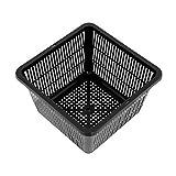 Vaso quadrato a Rete per Sistema di Coltivazione Idroponica (23x23cm)