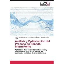 Análisis y Optimización del Proceso de Secado Intermitente