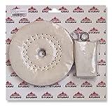 Stubai Schwabbelscheibe für 12 mm Schaft und Paste, 150 x 20 mm, 537101
