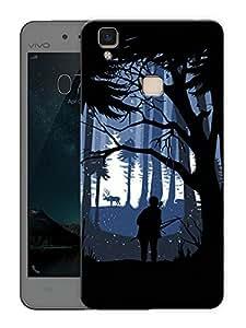 "Humor Gang twilight Printed Designer Mobile Back Cover For ""Vivo V3 Max"" (3D, Matte Finish, Premium Quality, Protective Snap On Slim Hard Phone Case, Multi Color)"