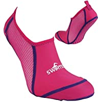 SwimTech Unisex-Youth Pool Socks Junior, Pink, 10K-13K